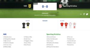 NIK – Sporting Kristina