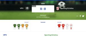 VPV – Sporting Kristina