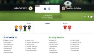F13 WFA/Solf IK YJ – Sporting Kristina