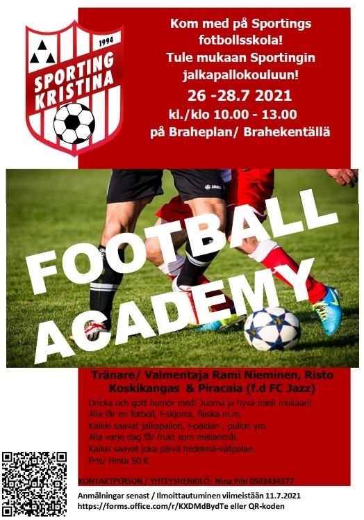 FOOTBALL ACADEMY 2021