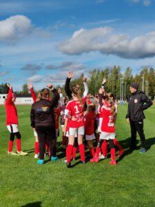 F11 spelade säsongens sista seriematcher i Jalasjärvi idag