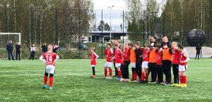 Sportings P12 spelar hemmamatch imorgon onsdag 19.5 kl 19.00 på Braheplan