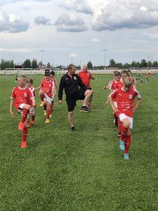 Sportings P12 spelar hemmamatch ikväll 10.6 kl 19.00 på Braheplan, Sporting – SJK-j/-10