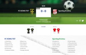 F13 FC KOMU – Sporting Kristina