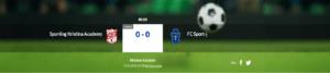 Sporting Kristina Academy – FC Sport-j 17.8.2020 klo 18:30