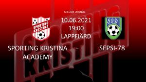 Sporting Kristina Academy – SEPSI-78. Torsdag 10.6 Kl. 19.00