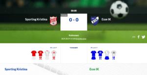Sporting Kristina – Esse IK