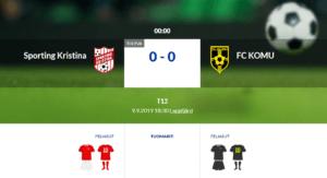 T12 Sporting Kristina – FC KOMU