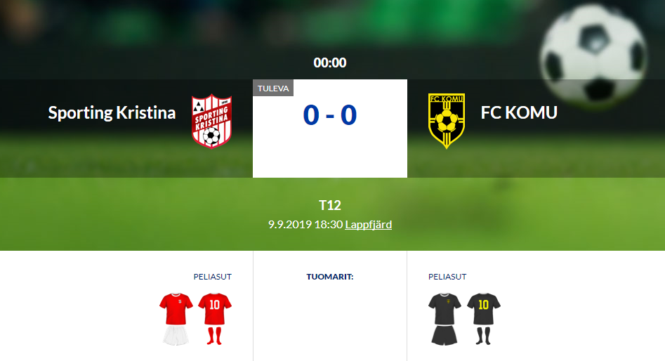 F12 Sporting Kristina – FC KOMU