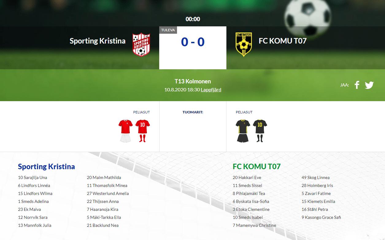 F13 Sporting Kristina – FC KOMU T07