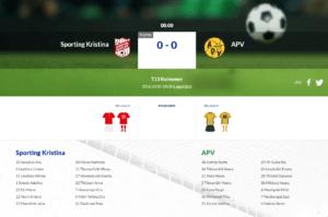 T13 Sporting Kristina – APV