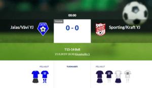 T15 Jalas/Vävi YJ – Sporting/Kraft YJ
