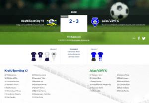 F15 Kraft/Sporting YJ – Jalas/VäVi YJ 2-3 (1-1)