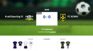 T15 Kraft/Sporting YJ – FC KOMU