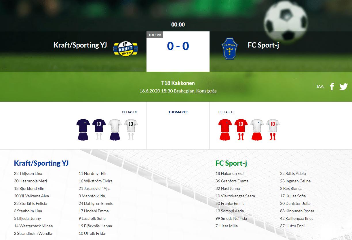 T18  Kraft/Sporting YJ – FC-Sport-j