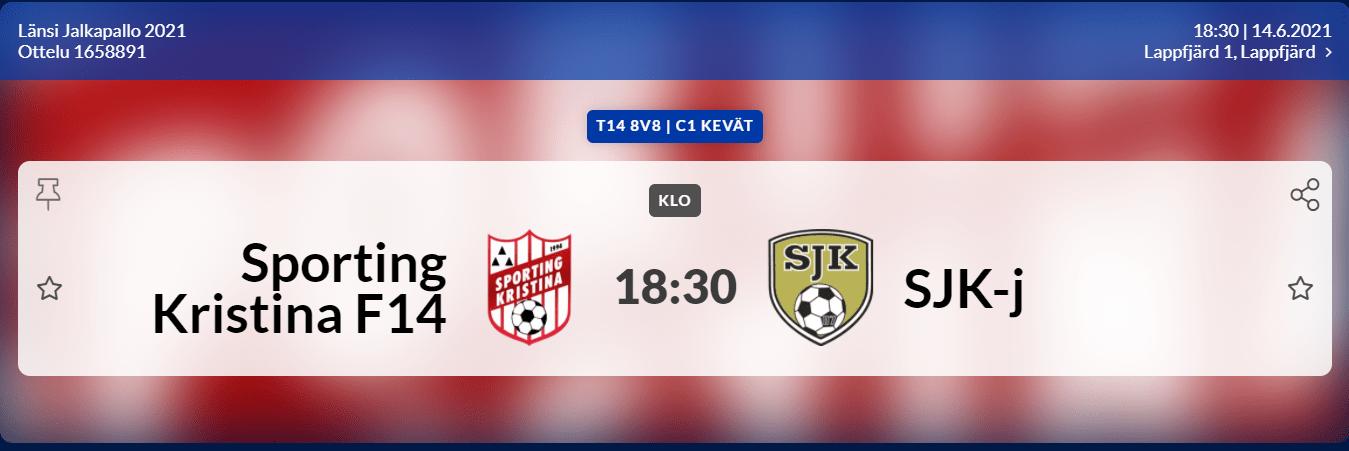Sporting Kristina F14 – SJK