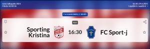 Sporting Kristina F14 – FC Sport