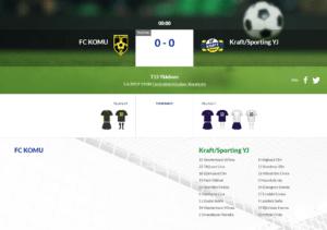 F15 FC KOMU – Kraft/Sporting YJ