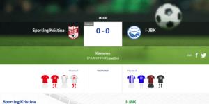 Sporting Kristina – I-JBK i Lappfjärd kl 19:00 ikväll
