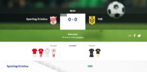 Sporting Kristina – Nykarleby IK