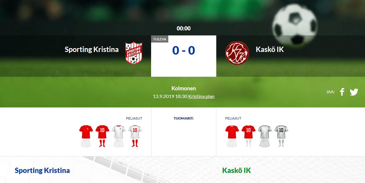 Sporting Kristina – Kaskö IK