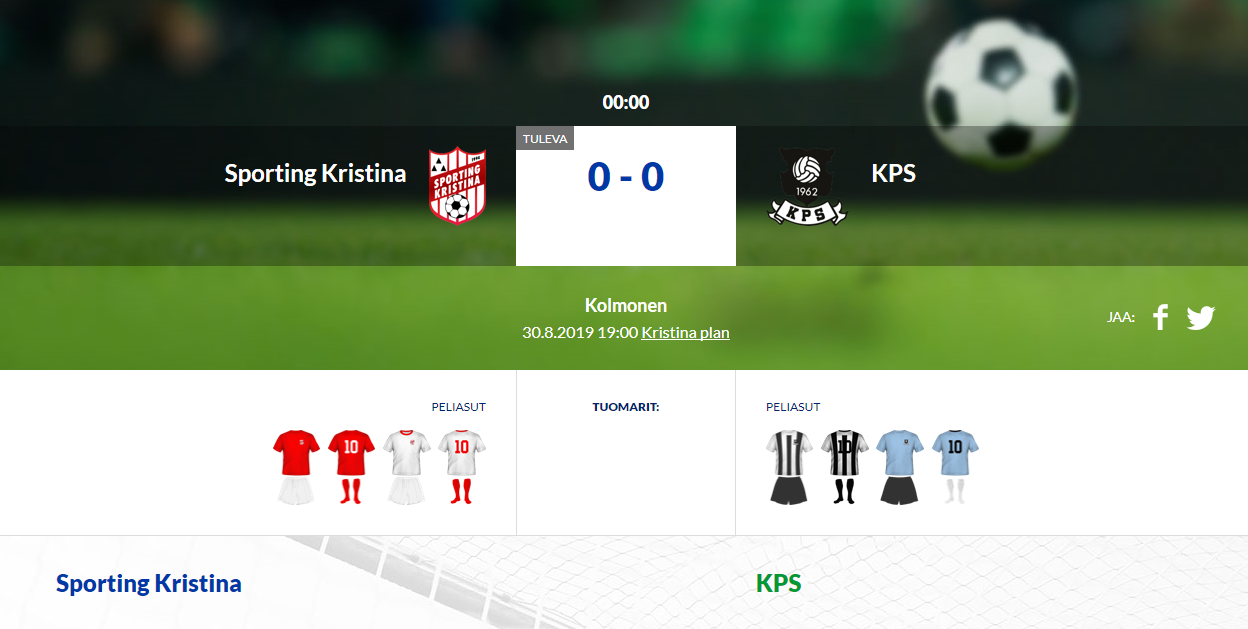Sporting Kristina – KPS