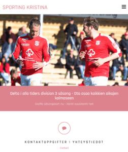 sportingkristina.com uudistuu